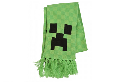 Bufanda Creeper de Minecraft