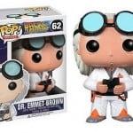 Cabezón Funko POP Doc, de Regreso al Futuro