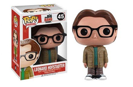 Cabezón Funko POP Leonard de The Big Bang Theory