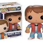 Cabezón Funko POP Marty McFly, de Regreso al Futuro
