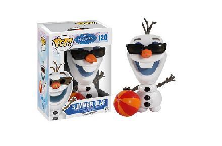 Cabezón Funko POP Olaf de Frozen: El Reino de Hielo