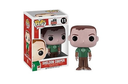Cabezón Funko POP Sheldon de The Big Bang Theory