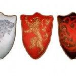 Cojines de Juego de Tronos, Casas Stark, Lannister y Targaryen