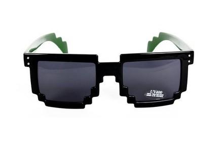 Gafas de sol pixeladas