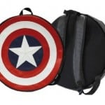 Mochila redonda escudo del Capitán América