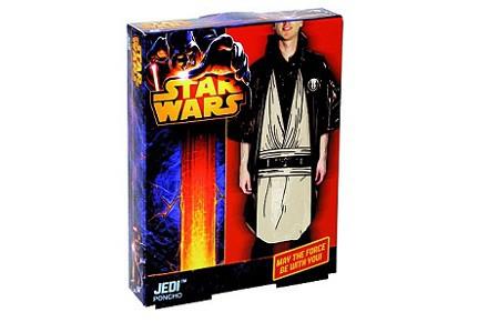 Chubasquero Jedi para la lluvia