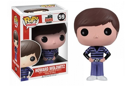 Cabezón Funko POP Howard Joel Wolowitz de The Big Bang Theory