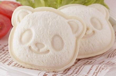 Panda sandwiches