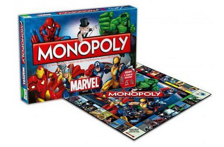 Monopoly superhéroes de Marvel