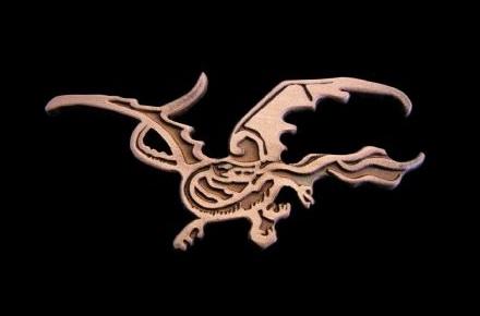 Pin dragón Smaug de El Hobbit