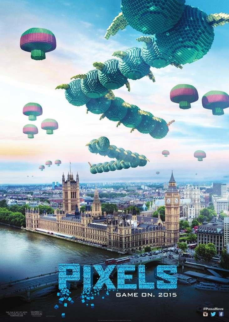 Regalos Frikis Pixels Centipede poster
