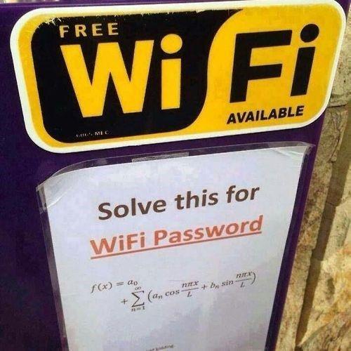 Friki resuelve wifi gratis