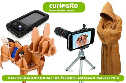 Volvemos con el #FrikiDeLaSemana en marzo con 4 regalos sorteados gracias a Curiosite