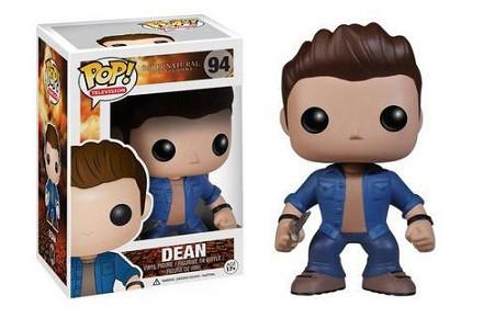 Cabezón Funko POP Dean Winchester de Sobrenatural