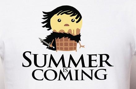Camiseta «Summer is coming»