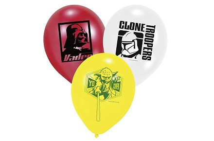 Globos de Star Wars