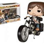 Cabezón Funko POP Daryl Dixon en motocicleta de The Walking Dead