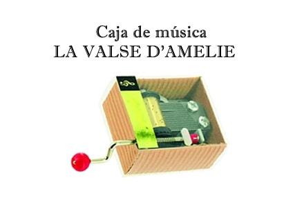 Caja de música La Valse d' Amelie