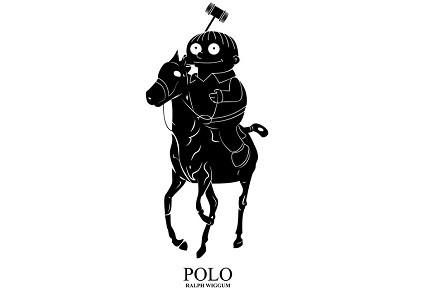 Camiseta «Polo Ralph Wiggum»