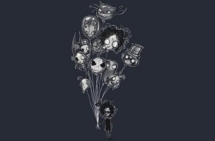 "Camiseta ""Burton's Balloons"""