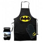 Delantal y manopla Batman