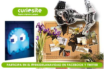 Llega el #FrikiDeLaNavidad con 3 super regalos gracias a Curiosite
