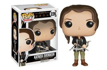 Cabezón Funko POP Katniss Everdeen de Los Juegos del Hambre