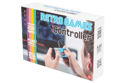 Retro game controller, más de 200 juegos en un mando
