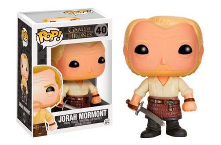 Cabezón Funko POP Jorah Mormont de Juego de Tronos