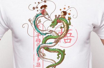 Camiseta «Danza de dragones»