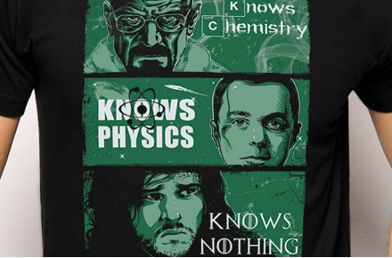Camiseta «Knowledge rules»