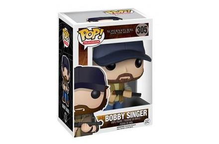 Cabezón Funko POP Bobby Singer de Sobrenatural