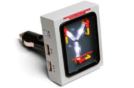 Cargador para el coche USB condensador de fluzo