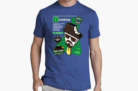 "Camiseta ""Icenberg"""