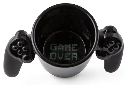 "Taza ""Game Over"""