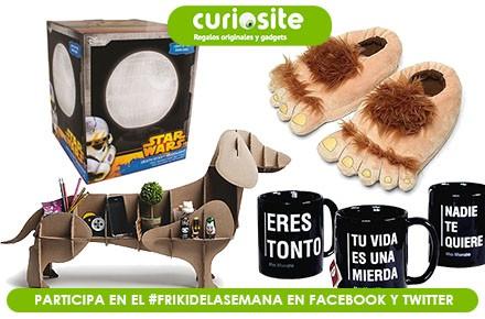 Nuevo sorteo del #FrikiDeLaSemana con 4 regalos patrocinado por Curiosite