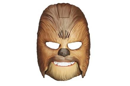 Máscara electrónica de Chewbacca