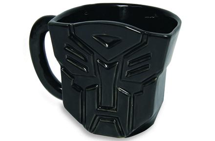 Taza Transformers logo de Autobots