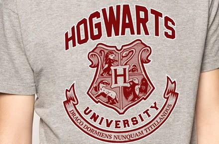 """Camiseta """"Hogwarts University"""""""