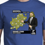 Camiseta Eddard Stark winter is coming