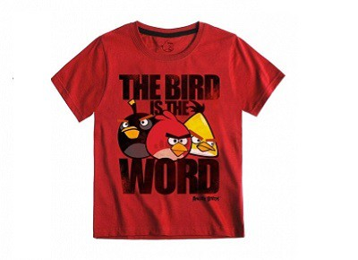 Camiseta Angry Birds 'The Bird is the World'
