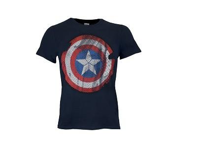 Camiseta friki Capitán América