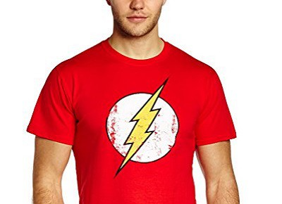 Camiseta friki de Flash (DC Comics)