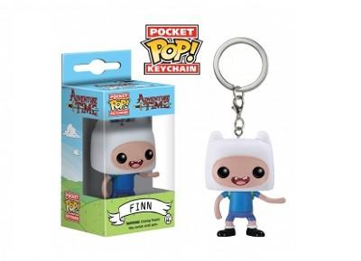 Llavero pocket POP! Hora de las Aventuras Finn