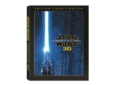 Star Wars VII: El despertar de la fuerza, la edición coleccionista de la película