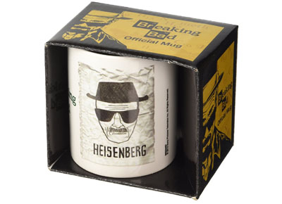 Taza Heisenberg de Breaking Bad