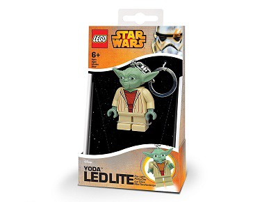Mini-llavero LEGO Yoda Star Wars