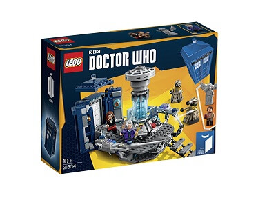 Nave TARDIS Doctor Who LEGO