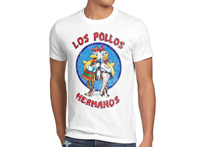 "Camiseta de Breaking Bad: ""Los pollos hermanos"""