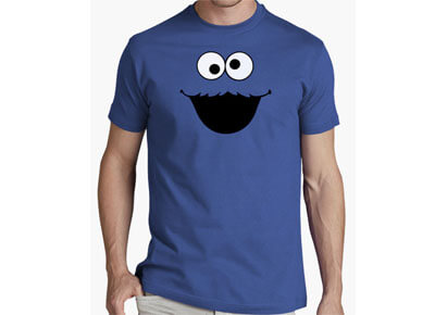 "Camiseta de Triki, el Monstruo de las galletas ""Barrio Sésamo"""